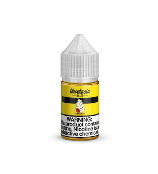 Vapetasia Salts Killer Kustard Strawberry 30mL