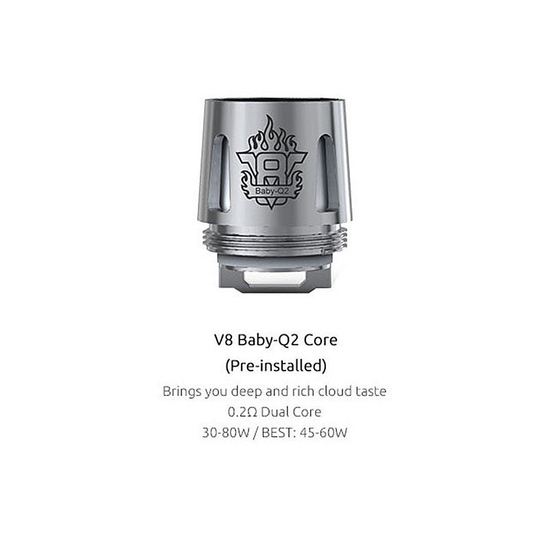 TFV8 Baby Q2 Replacement Coils - 5 Pack - Fuggin Vapor Co.