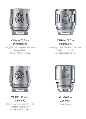 TFV8 Baby X4 Replacement Coils - 5 Pack - Fuggin Vapor Co.