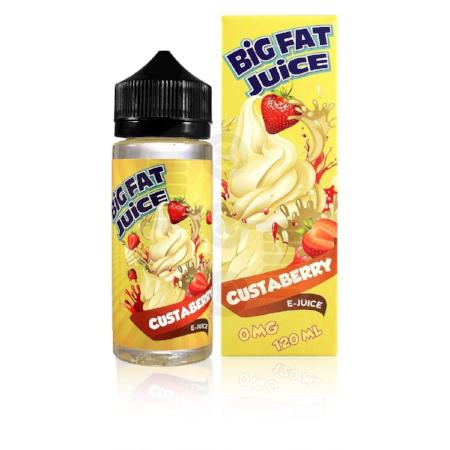 Big Fat Juice Custaberry 120mL