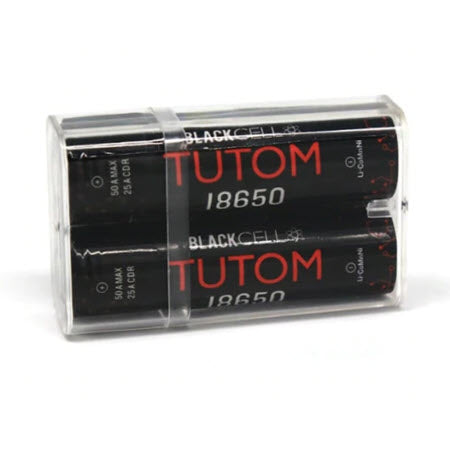 Blackcell 18650 Tutom Battery - 2PK