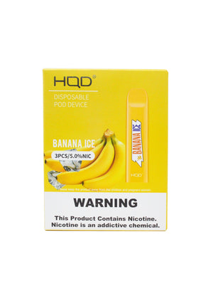 HQD Cuvie V2 Banana Ice Disposable Device - 3PK