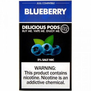 Delicious Pods Blueberry - 4 Pack