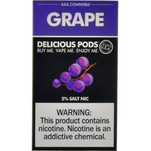Delicious Pods Grape - 4 Pack