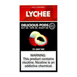 Delicious Pods Lychee - 4 Pack