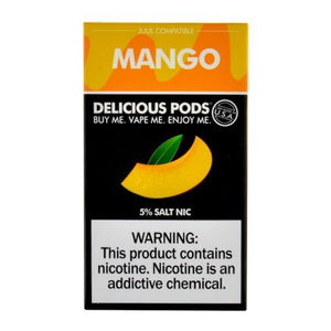 Delicious Pods Mango - 4 Pack