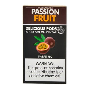 Delicious Pods Passion Fruit - 4 Pack