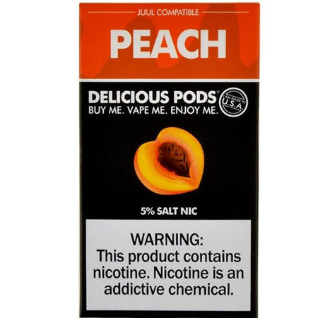 Delicious Pods Peach - 4 Pack