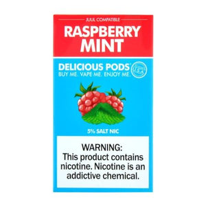 Delicious Pods Raspberry Mint - 4 Pack