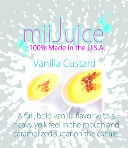 EJuice - Vanilla Custard (30ml)