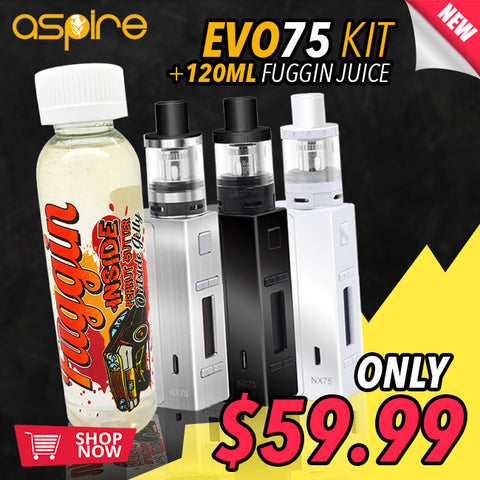 Aspire Evo 75 Kit Bundle