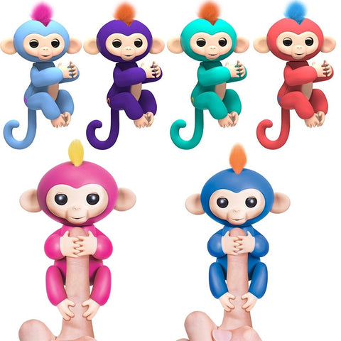 Fully Interactive Finger Monkey