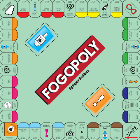 Fogopoly - Full Set with Board Game