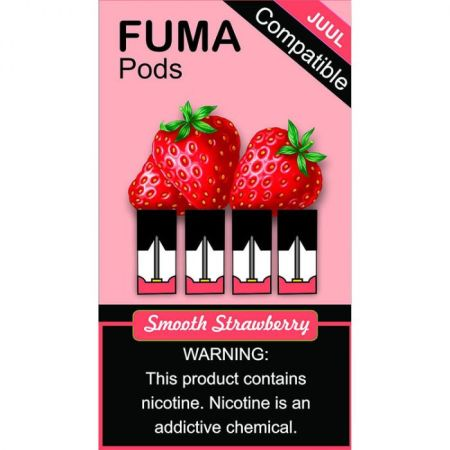 Fuma Pods Smooth Strawberry - 4 Pack