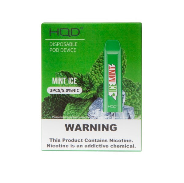 HQD Cuvie V2 Ice Mint Disposable Device - 3PK