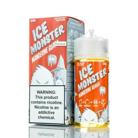 Jam Monster Ice Monster Mangerine Guava 100mL