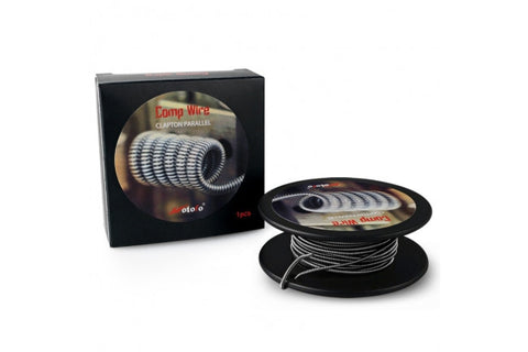 CLAPTON PARALLEL WIRE (26GA) ROLL - 10FT - Fuggin Vapor Co.