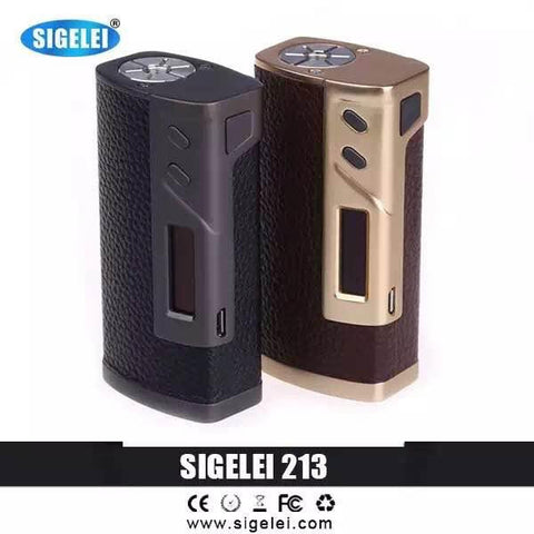 213 TC Leather Box Mod