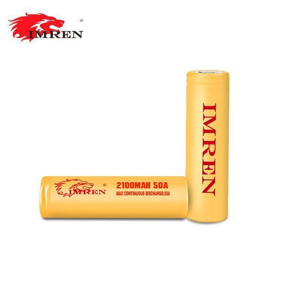 IMREN 18650 2100mAh 3.7v Battery - 2 Pack