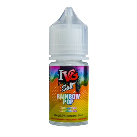 IVG Salt Pops Rainbow Pop 30mL
