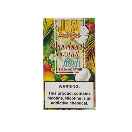 Just Mango Strawberry Coconut Fresh - 4 Pack