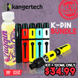 Kanger K-PIN Starter Kit + 120mL Fuggin eLiquid
