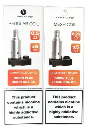 LostVape Orion Plus Replacement Coil - 5PK