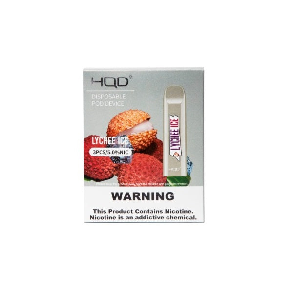 HQD Cuvie V2 Lychee Ice Disposable Device - 3PK