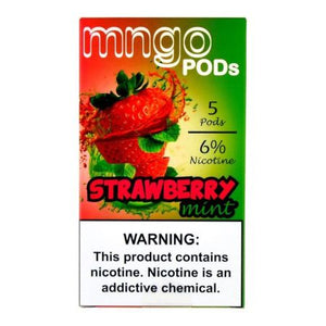 Mngo Pods Strawberry Mint - 5 Pack