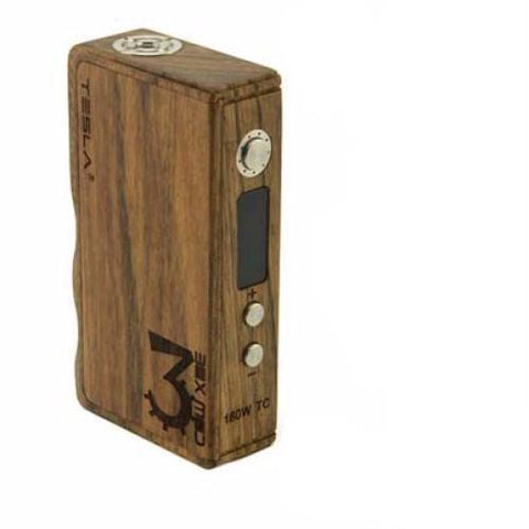 160W Temperature Control TC Wood Box Mod - Fuggin Vapor Co.