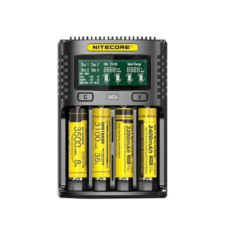 Nitecore UMS4 Battery Charger