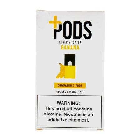 Plus Pods Banana - 4PK