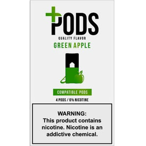 Plus Pods Green Apple - 4PK