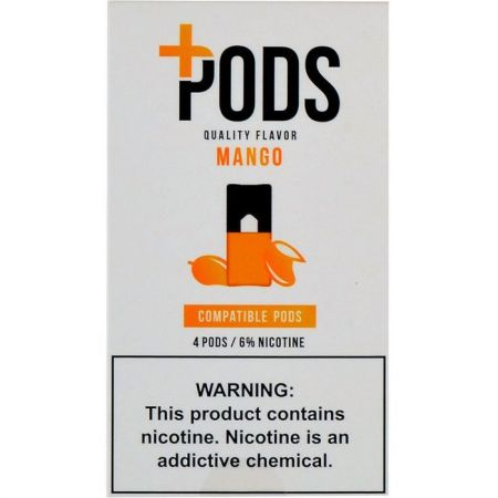 Plus Pods Mango - 4PK