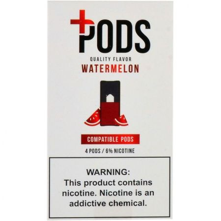 Plus Pods Watermelon - 4PK