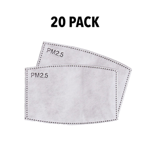 20 Pack - PM2.5 Replacement Filters