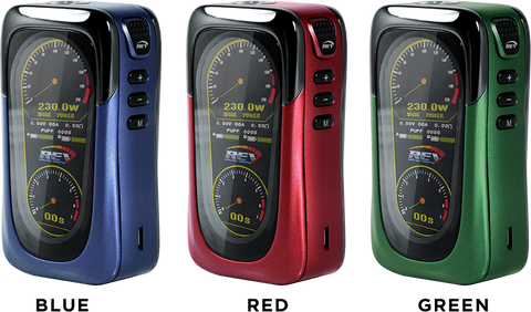 REV GTS 230w Mod + 120mL Fuggin eLiquid