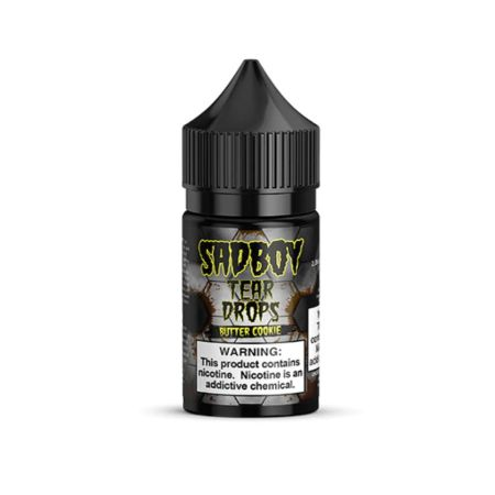 SadBoy Tear Drops Butter Cookie Salt 30mL