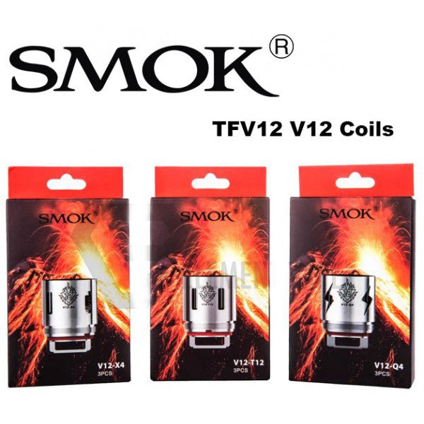 Smok TFV12 Coils - 3 Pack + 120mL Fuggin eLiquid