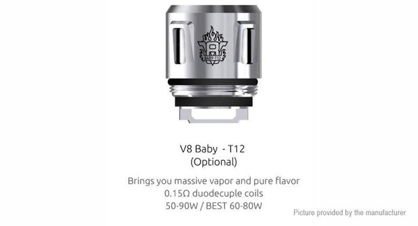 TFV8 Baby T12 Replacement Coils - 5 Pack