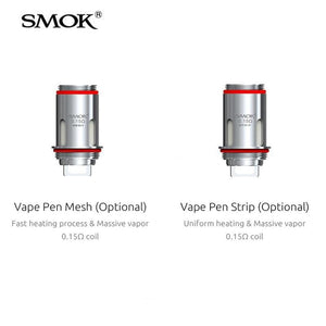 Smok Vape Pen 22 Coils - 5 Pack + 120mL Fuggin eLiquid