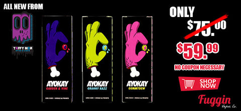 Ayokay FULL Collection by Taffy Man eLiquid - 180mL