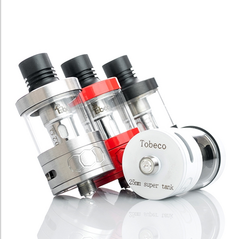 Tobeco 25mm Super Sub-Ohm Tank - Fuggin Vapor Co.