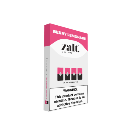 Zalt Pod Berry Lemonade - 4 Pack
