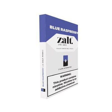 Zalt Pod Blue Raspberry - 4 Pack