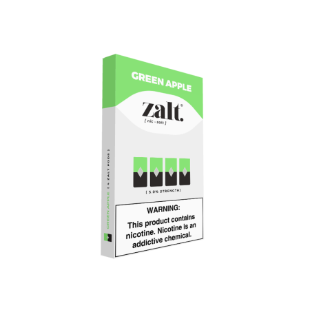 Zalt Pod Green Apple - 4 Pack