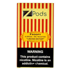 Ziip Pods Froopy - 4 Pack