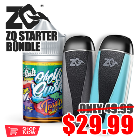 ZQ Aspire Vi Pod Kit + 30ML OH MY GUSH SALT