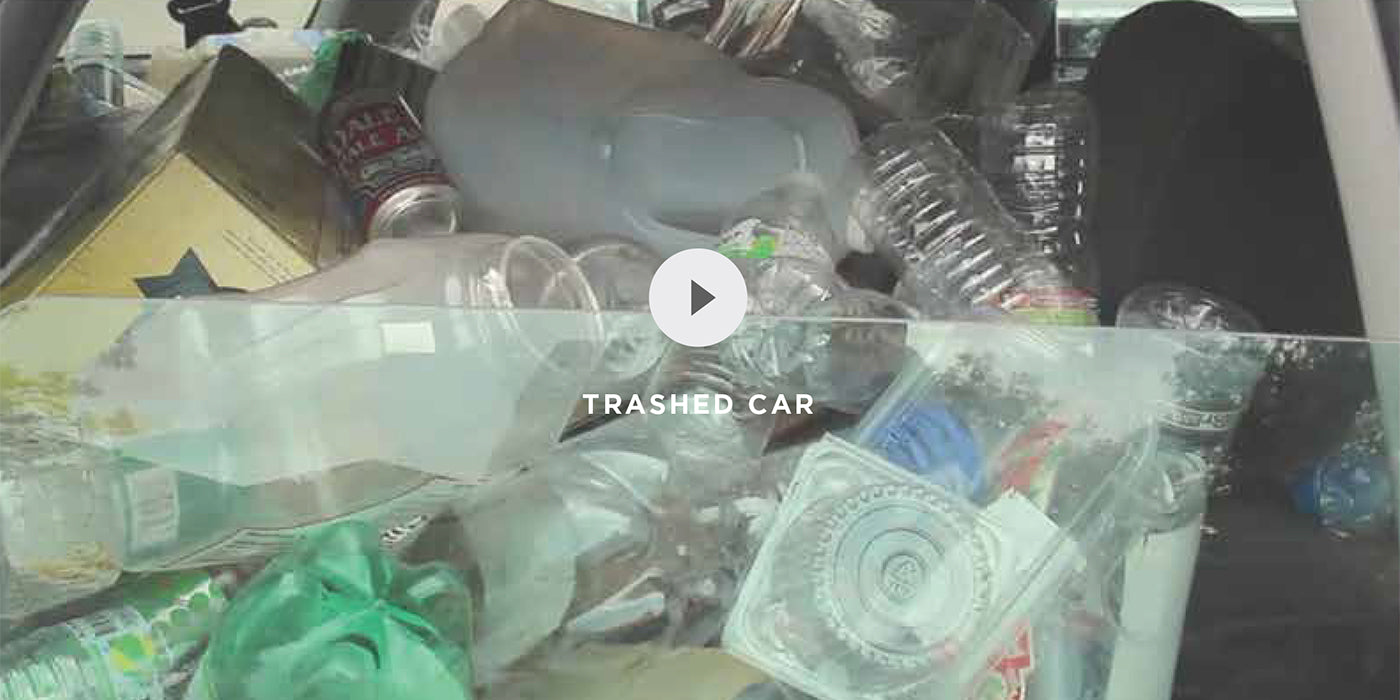 Bring Your Own: Trashed Car