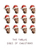 The Twelve Dres of Christmas - Dr Dre Holiday Greeting Card